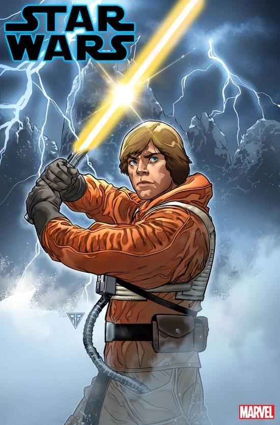 Luke Skywalker Wields a New Lightsaber in 'Star Wars' #6