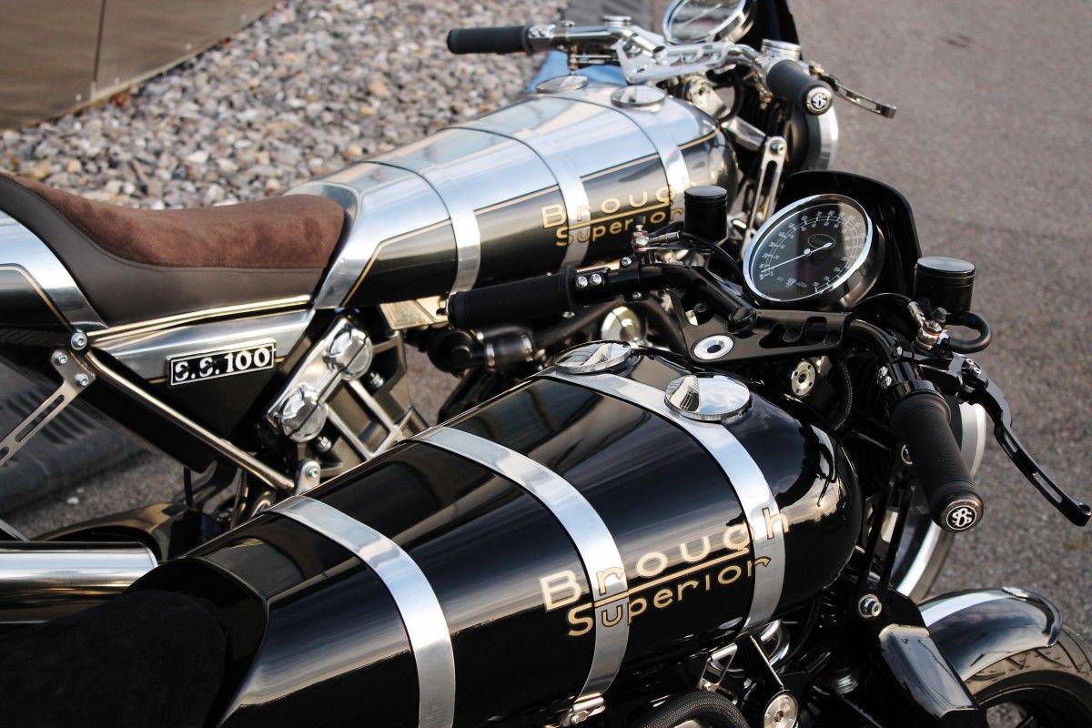 Moto BROUGH SUPERIOR SS 100