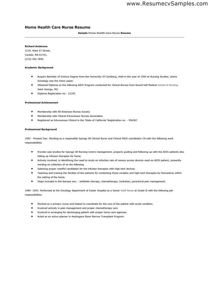 Infusion Nurse Sample Resume Essay On Literacy Narrative College