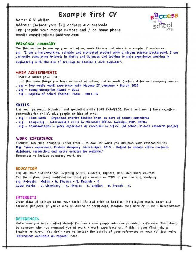 show me a resume format best ideas about sample resume format on