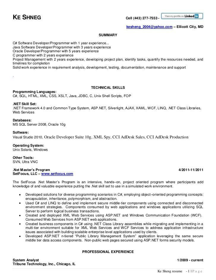 software specialist sample resume node2002-cvresumepaasprovider