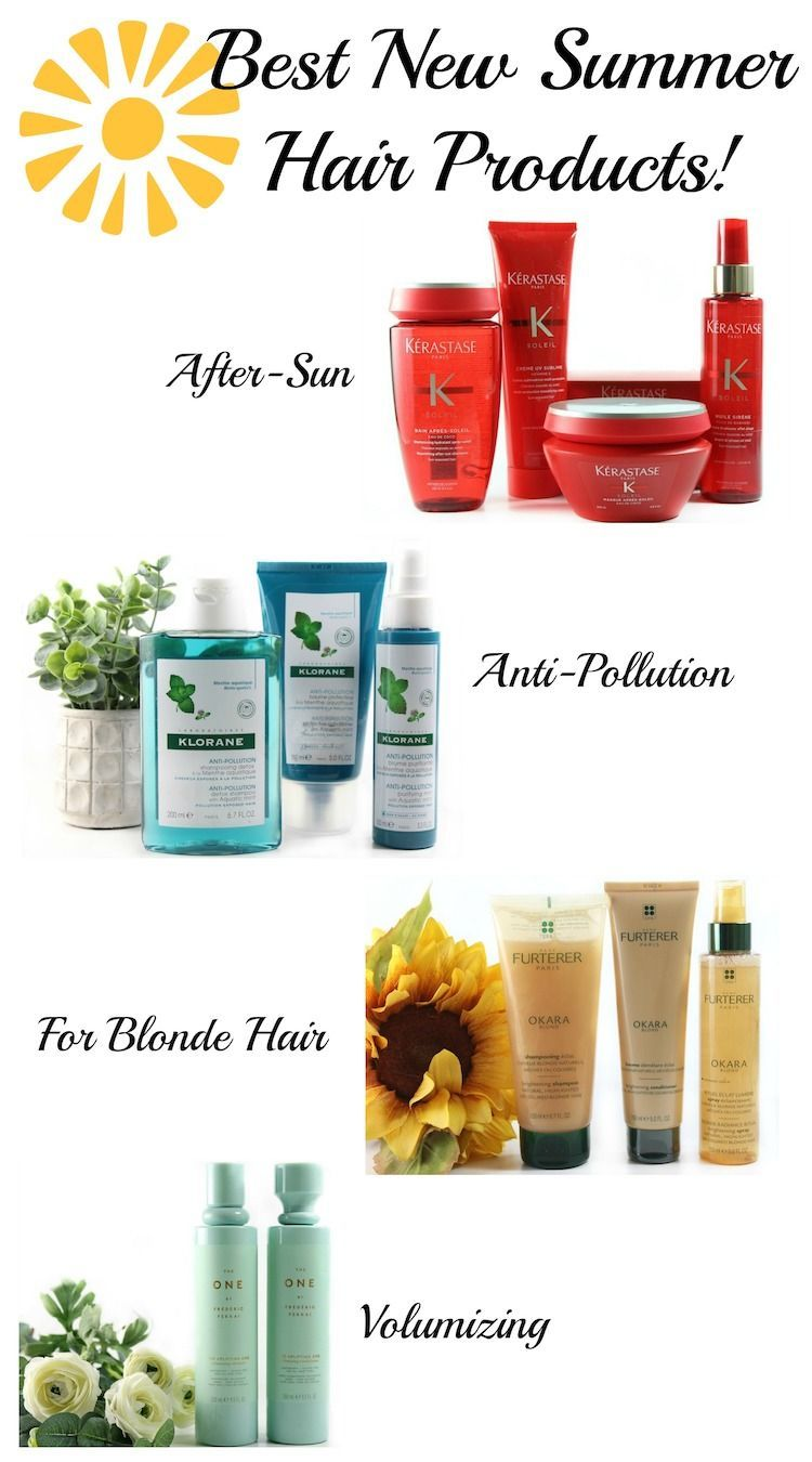 Best new summer hair products!