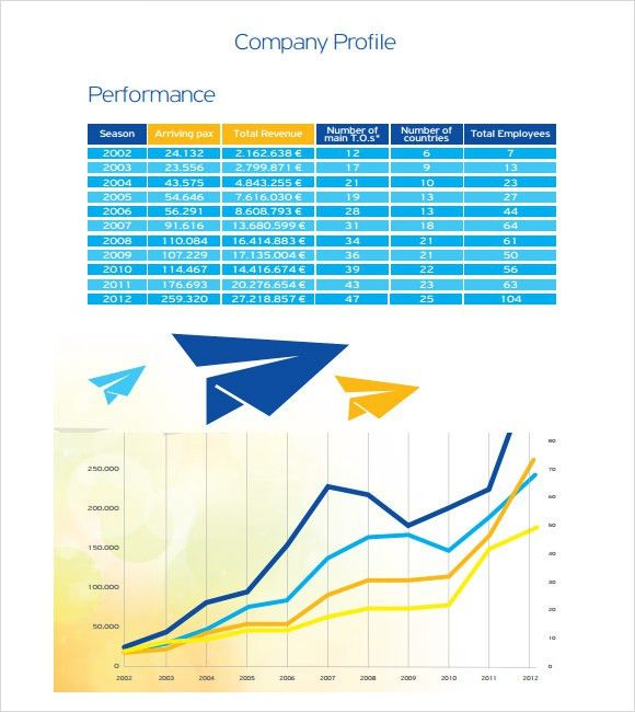 Sample Company Profile Format In Word Sample Company Profile - company profile sample