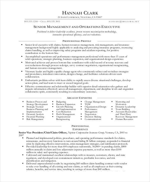 Operation Manager Resume Examples Unforgettable Operations - examples of cv