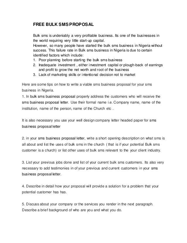 How To Write An Official Proposal 8 How To Write A Formal - formal proposal letter