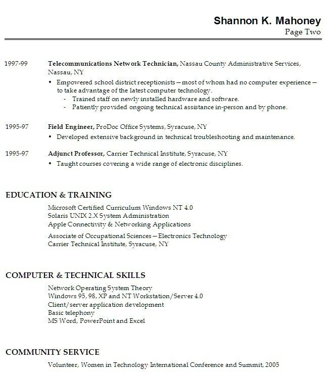 No Experience Resume Sample No Job Experience Required No