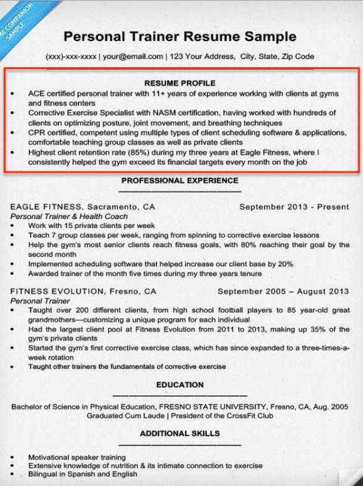 Ymca Personal Trainer Sample Resume kicksneakers