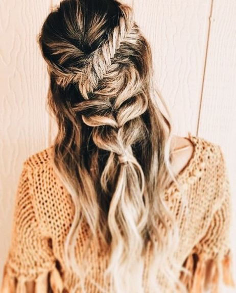 boho hairstyle ideas you'll want to copy all winter 41