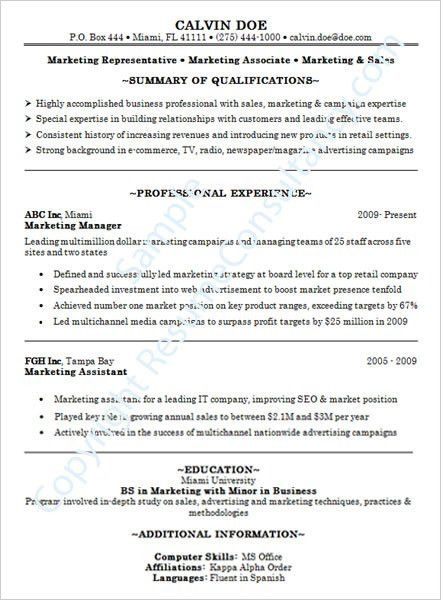Successful Resume Templates Writing A Resume Objective Help - successful resume templates