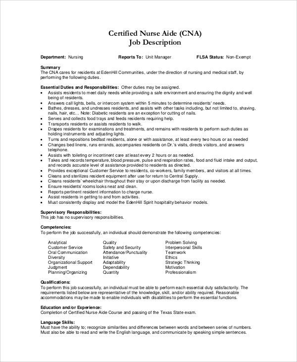 nursing assistant job duties 31 nurse assistant sample resume cna cna job duties