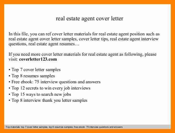 ... New Real Estate Agent Announcement Letter Real Estate Cover   Commissioning  Agent Cover Letter ...