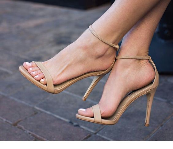 Sweet simple beige sandals