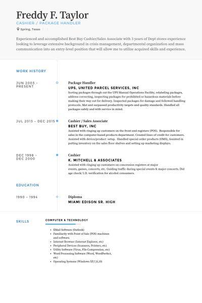 Best Buy Resume Examples Professional Best Buy Sales Associate - buy resume templates