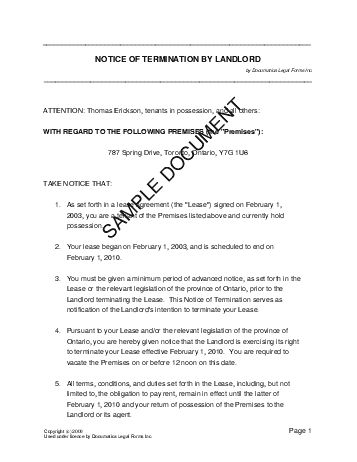 sample letter for lease termination notice cancellation letter for lease termination letters service outline templates best - Commercial Lease Termination Letter