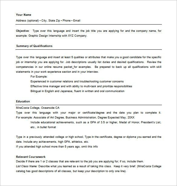 Education Resume Template Word 51 Teacher Resume Templates Free - combined resume template
