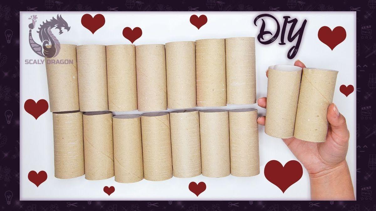 5 manualidades fáciles con tubos o rollos de cartón