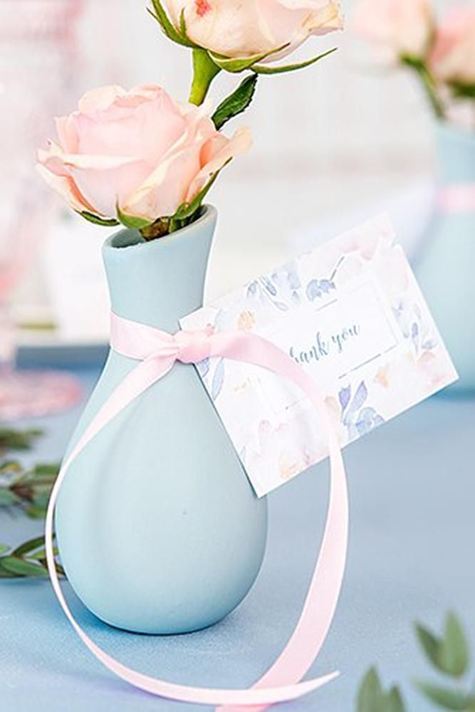 30 Bridal Shower Favors For Any Budget In 2019 ❤ bridal shower favors favor vases #weddingforward #wedding #bride