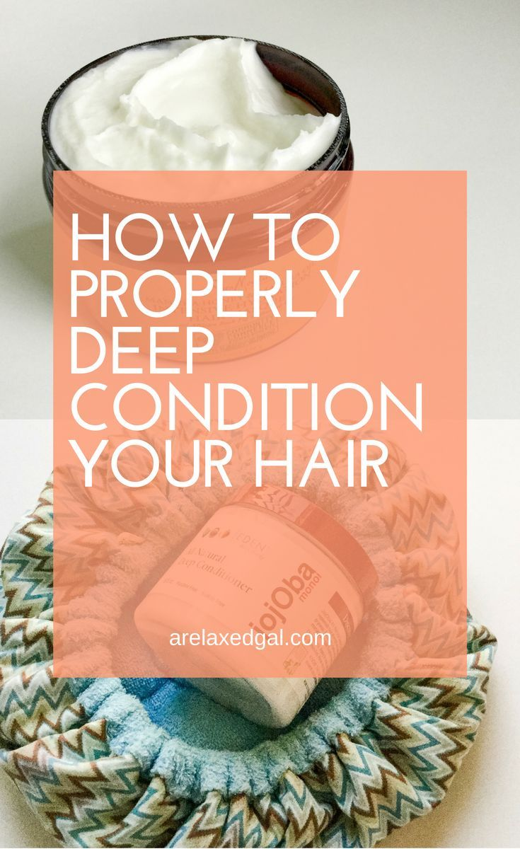To get make sure your hair is properly moisturized and conditioned, you have to do it the right way. Here's the proper way to deep condition your hair.