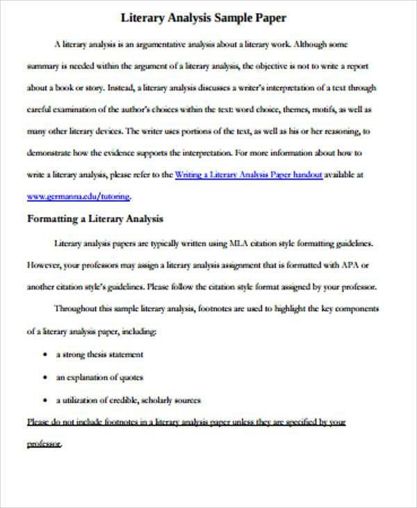 literary analysis essay format custom writing at literary essay  literary analysis essay example writing conclusions for essays sample critical analysis literary analysis essay format