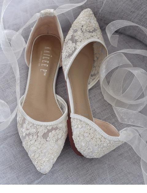 Flats for bride