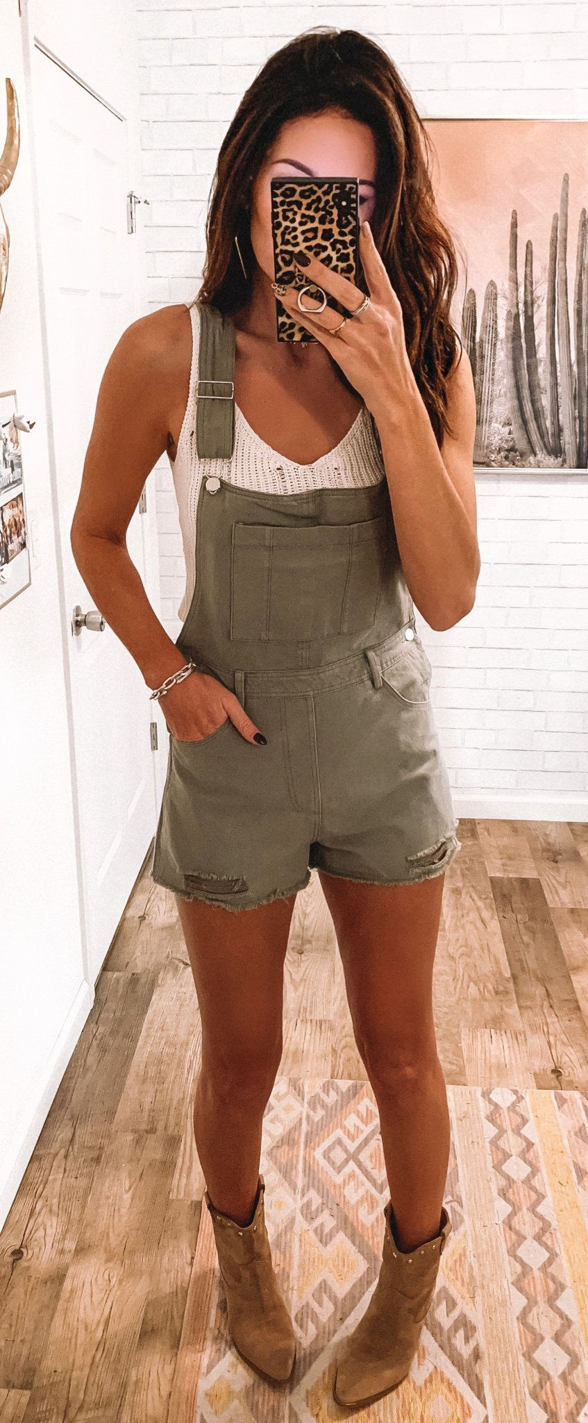 gray rompers #spring #outfits