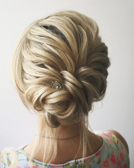 Bridesmaids Hairstyles Rustic