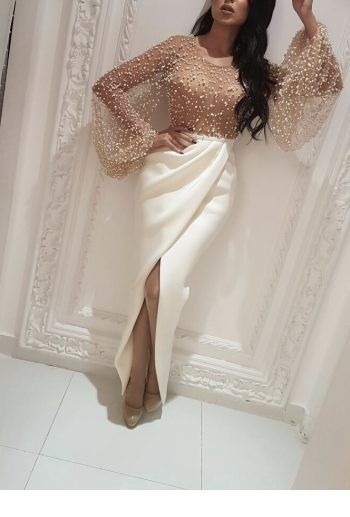 Glam dress with nice top design