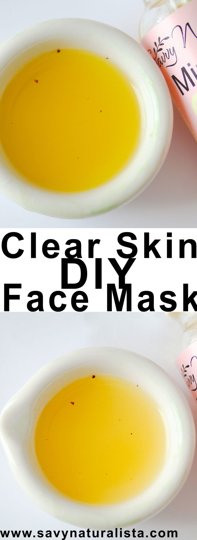Looking to get clear skin with just two simple ingredients! Make sure you check out this easy clear skin Face mask DIY