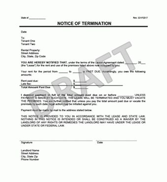 Examples Of Eviction Notices Sample Eviction Notice Template 37 - eviction notice pdf