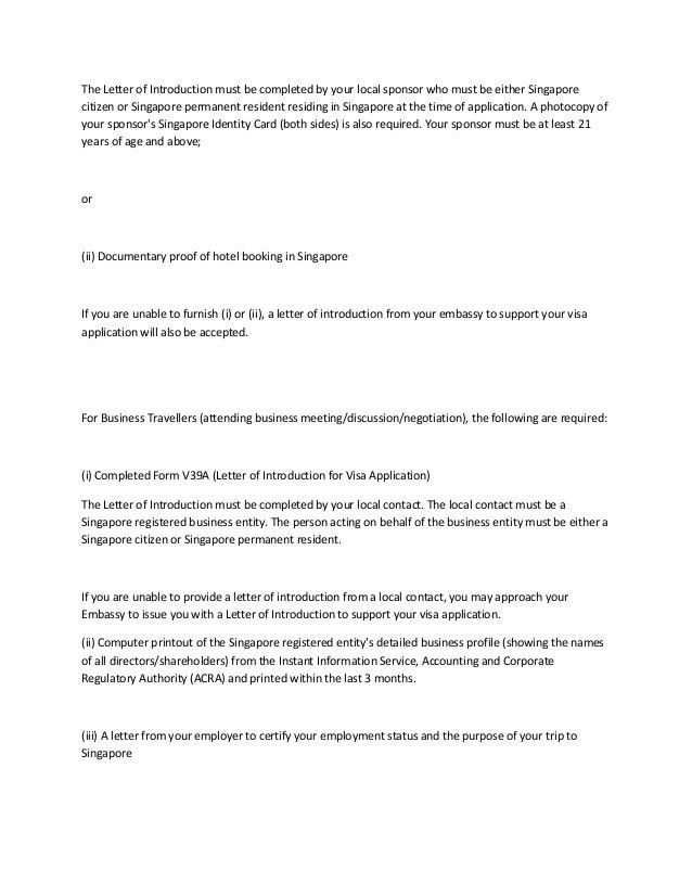 Covering letter for visa application singapore sample cover letter singapore visa covering letter sample bunch ideas of self spiritdancerdesigns Gallery