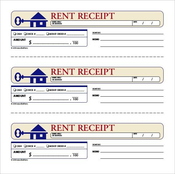 Tenant Receipt Tenant Receipt Of Keys Ez Landlord Forms, Rent - rental ledger template