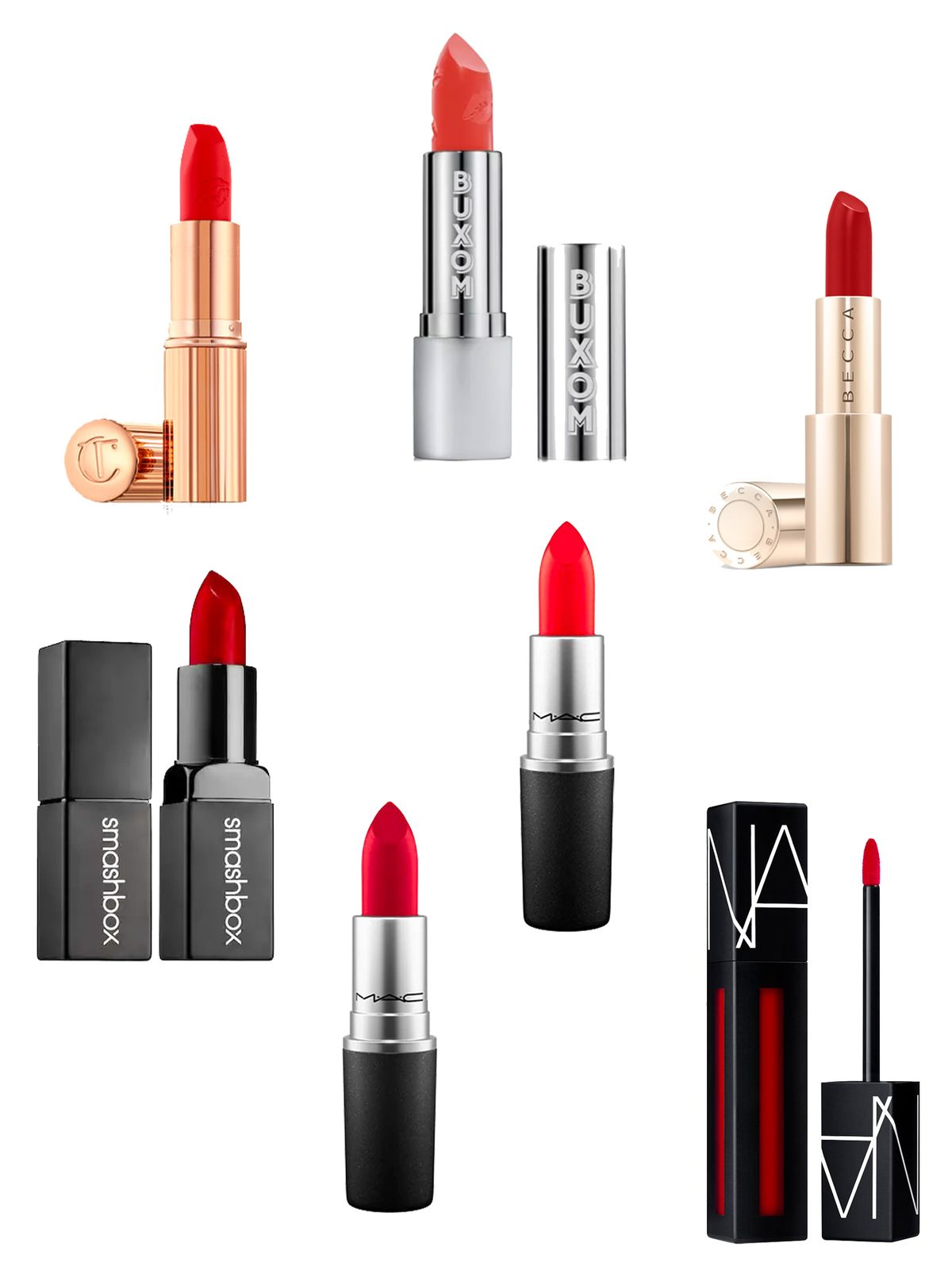 Great Red Lipsticks for Summer