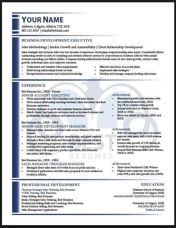 Business Development Resume Objective Sample Resumes Business - direct sales resume