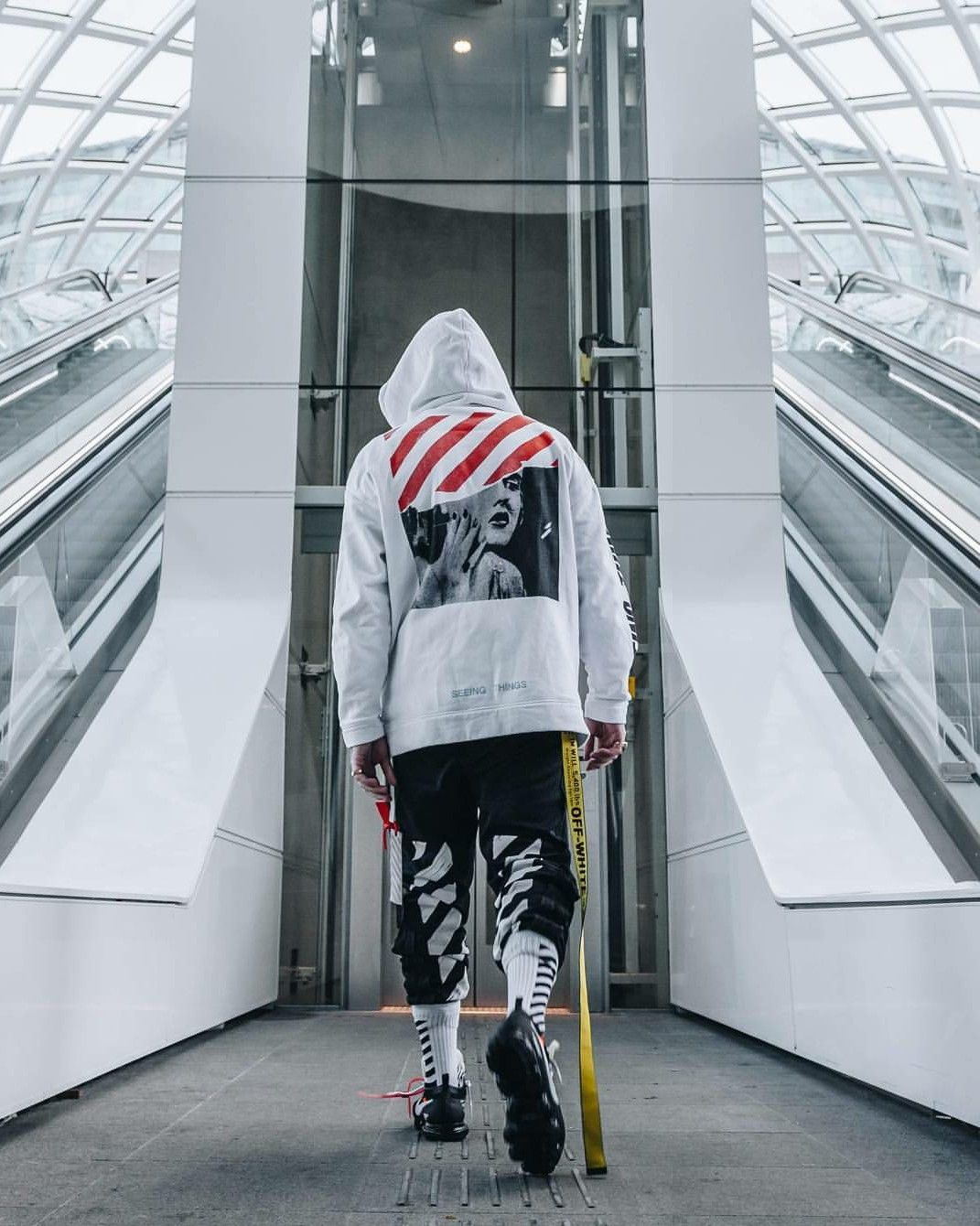 off white shoes outfit
