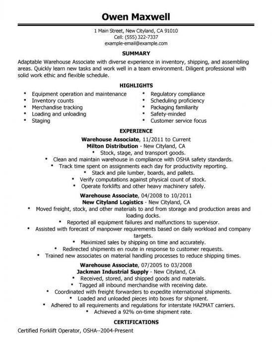 Line Worker Sample Resume Production Line Worker Resume Examples - assembly line worker sample resume
