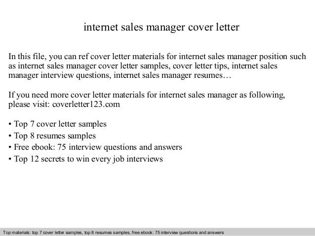 ... Sample Cover Letter Sales Manager Resume Cover Letter For   Documentum Administrator  Cover Letter ...