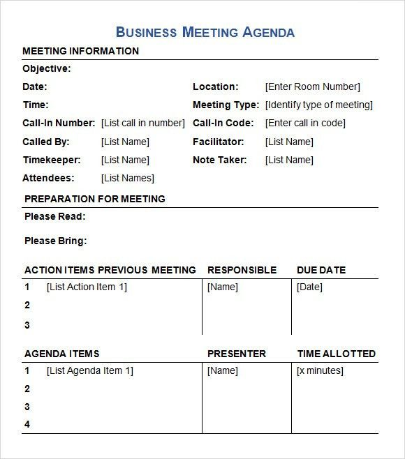 meeting list template wtfhyd - business itinerary template