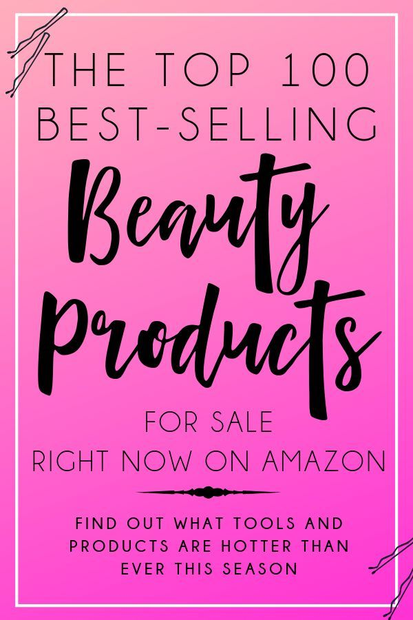 Are you absolutely obsessed with beauty products and all things beautiful? Check out the top 100 best-selling beauty products available for sale right now on Amazon. #Shopping #Beauty #HairProducts #BeautyProducts #HairTools #Makeup #Cosmetics