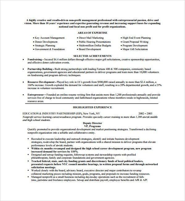 Non Profit Proposal Template non profit business plan template - non profit proposal template