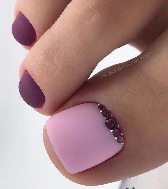 Beautiful Feet Nail Art Ideas for Brides – isishweshwe