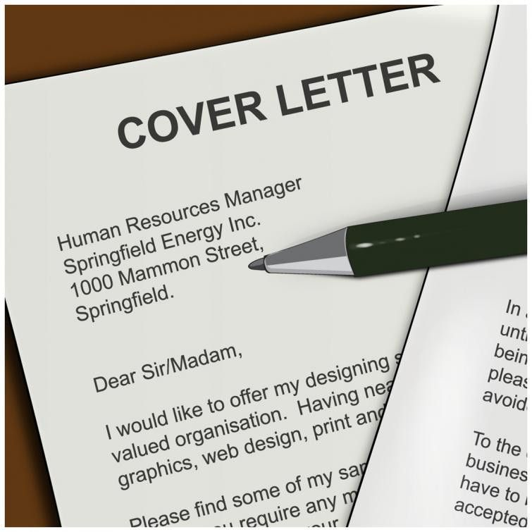 cover letter that stand out