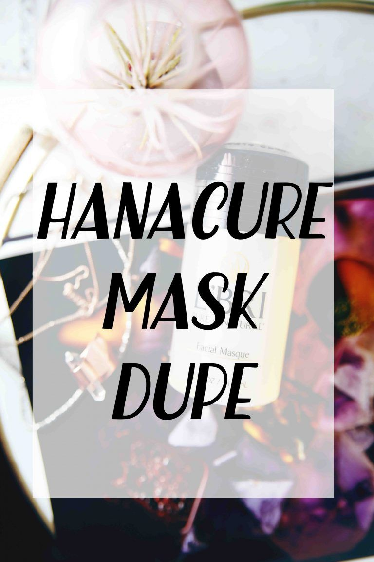 Hanacure Mask Dupe – Justina's Gems #nontoxicbeauty #cleanbeauty #hanacuremaskdupe #antiagingmask #acnemask #firmingmask