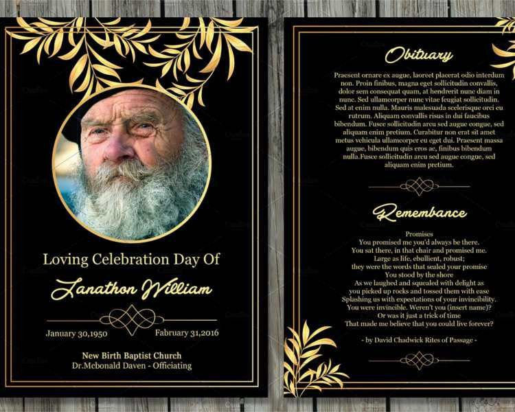 Printable Obituary  EnvResumeCloudInterhostsolutionsBe