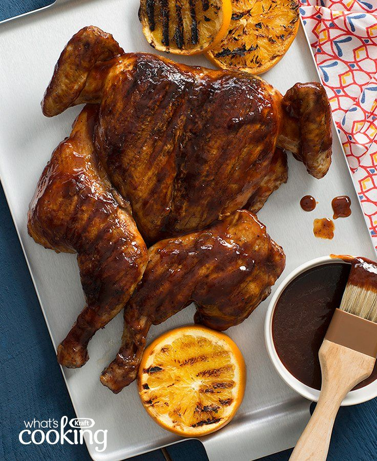 Memphis-Style Sweet & Spicy BBQ Chicken #recipe