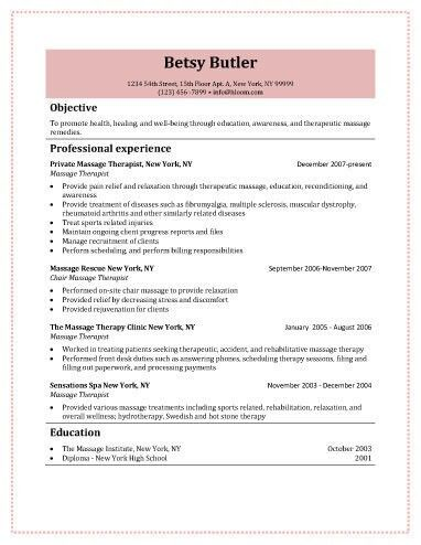 Example for radiation therapist resume radiation therapy