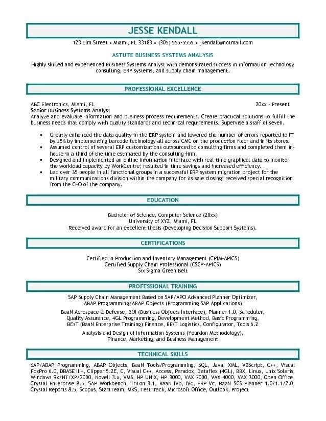 Professional Business Resume Templates Business Resume Example - examples of business resumes
