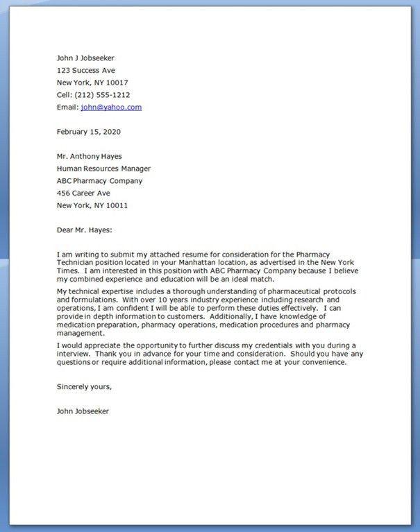 Dialysis Technician Cover Letter Patient Care