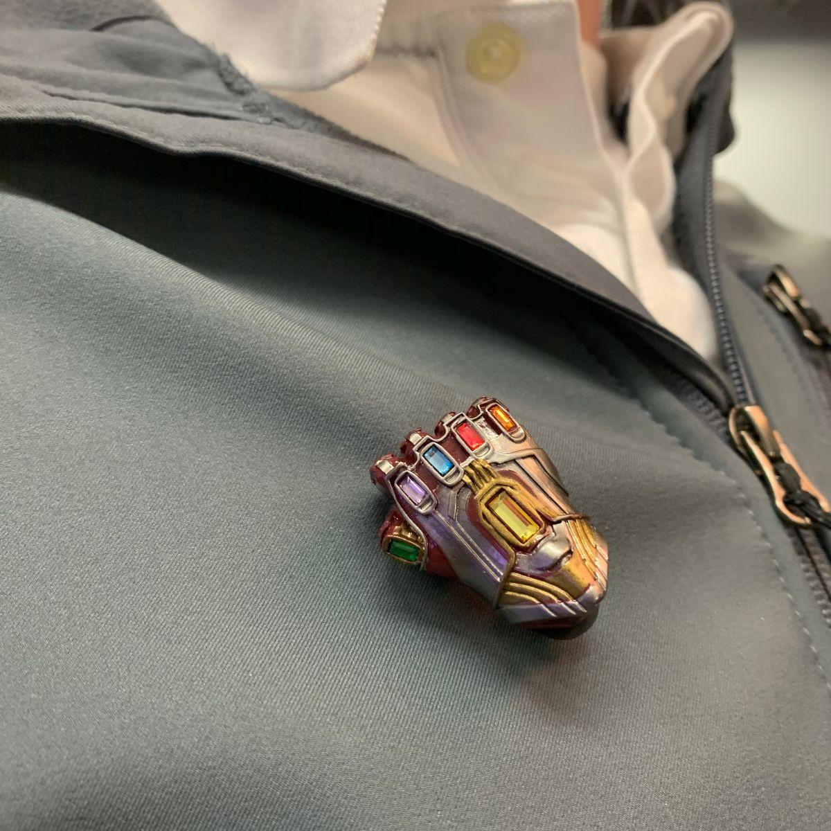 Iron Man Iron Gauntlet Enamel Pin