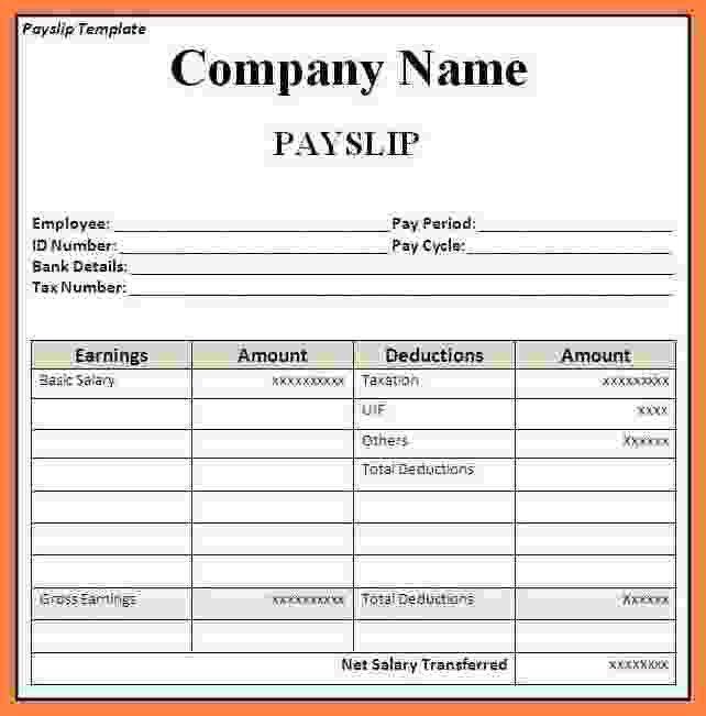 payslip formats | node2001-cvresume.paasprovider.com