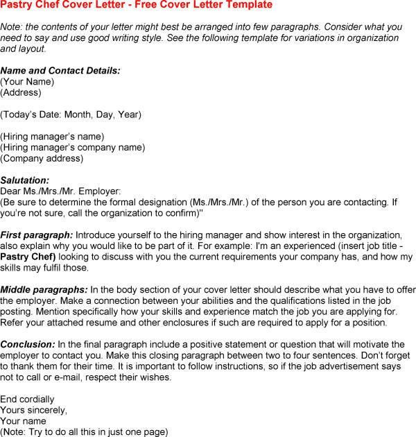 Chef Cover Letters Letter Example Icoverorguk  Chef Cover Letter